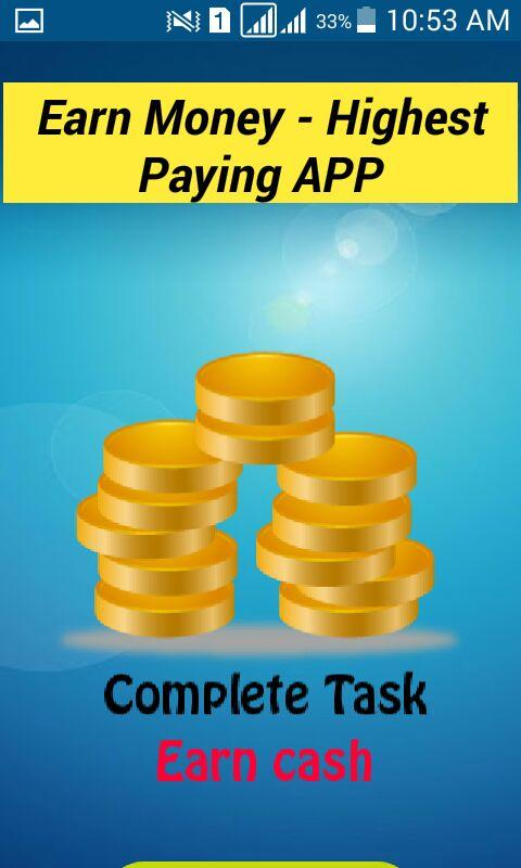 Earn Money - Complete Task APK 1 1 Download - Free Education APK