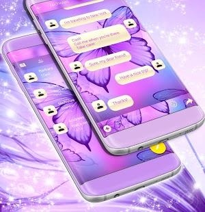 Butterfly SMS Téma zdarma 2017 - náhled