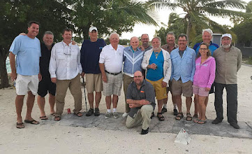 Photo: Another successful February trip at the Andros Island Bonefish Club. Our 18th straight and #19 on the books already. Simply the finest destination on the planet for large to extra large bonefish.