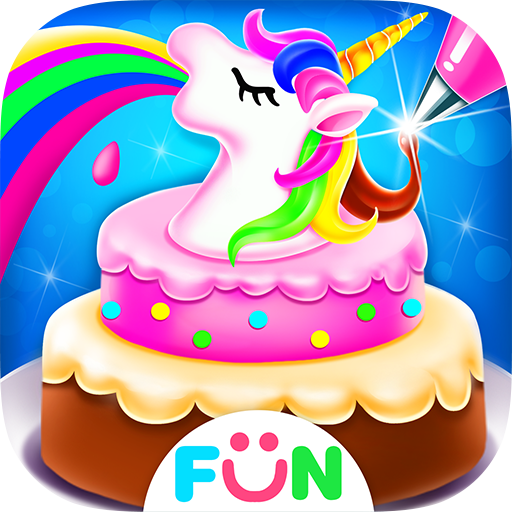 Unicorn Frost Cakes  Rainbow Cake Bakery Games