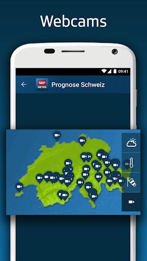 SRF Meteo - Wetter Prognose Schweiz  screenshots 7