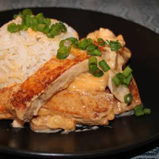 Sweet Coconut Thai Tofu.