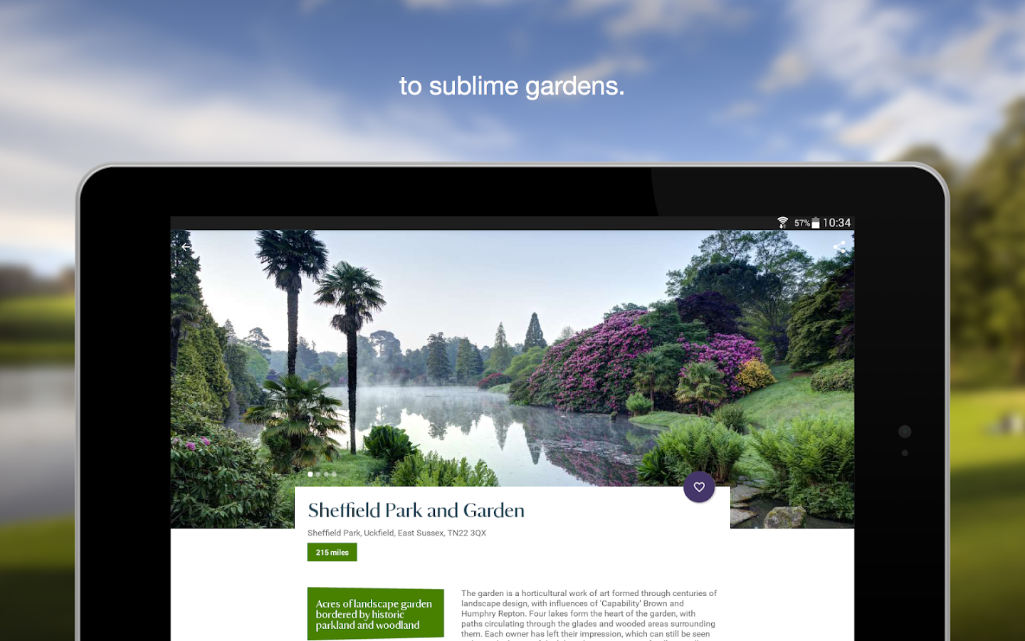 National Trust- screenshot