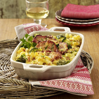 Pork, Pasta and Broccoli Bake