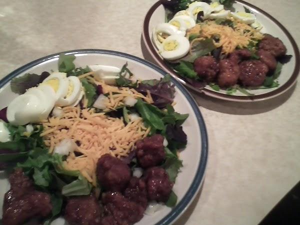 Easy Fried Chicken Salad Recipe