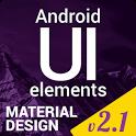 Material Design UI Template icon