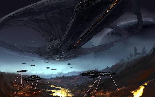 Spaceship HD Live Wallpaper