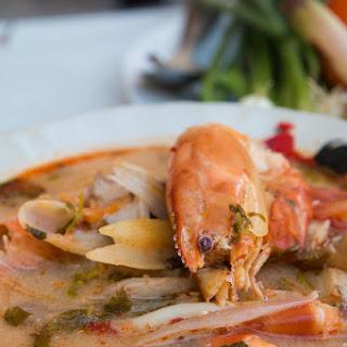 Authentic Tom Yum Recipe (ต้มยำกุ้ง) with Shrimp