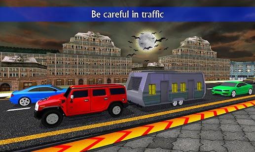 Camper Van Truck Driving - náhled