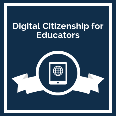 Course Logo: Digital Citizenship for Educators