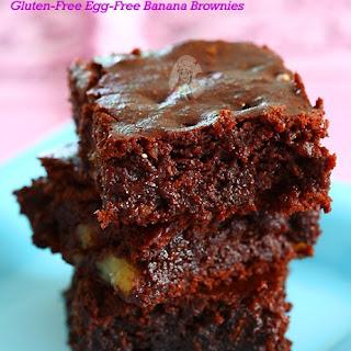 Banana Brownies Egg Free Recipes