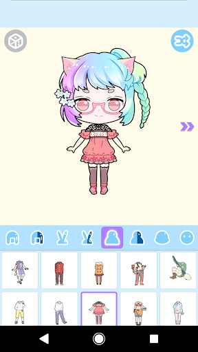 Cute Avatar Maker: Make Your Own Cute Avatar 2.0.2 Screenshots 9
