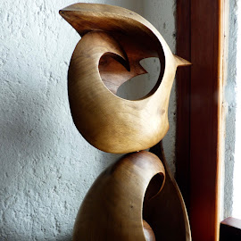 ESCULTURA EN MADERA  by Jose Mata - Artistic Objects Other Objects