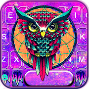 Dream Catcher Owl Keyboard Theme APK for Bluestacks