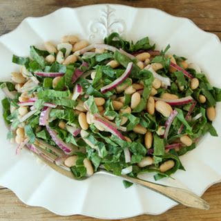 White Bean and Spinach Salad