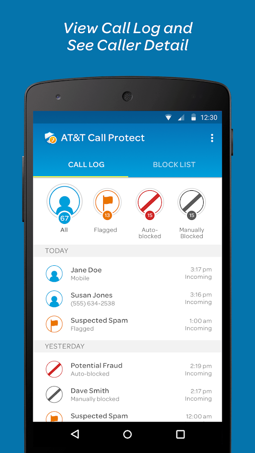 At Amp T Call Protect Android Apps On Google Play