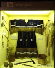 Photo: Kleding en voorwerpen van de Cree