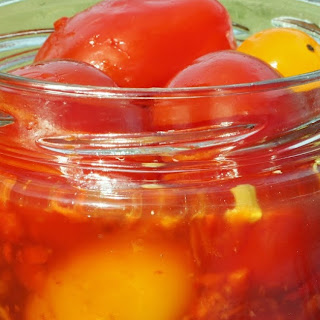 Pickled Red Cherry Tomatoes Recipes