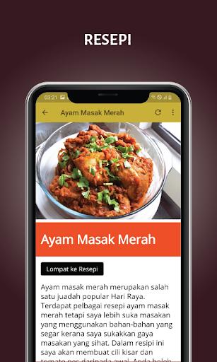 Resepi Juadah Raya screenshot 2