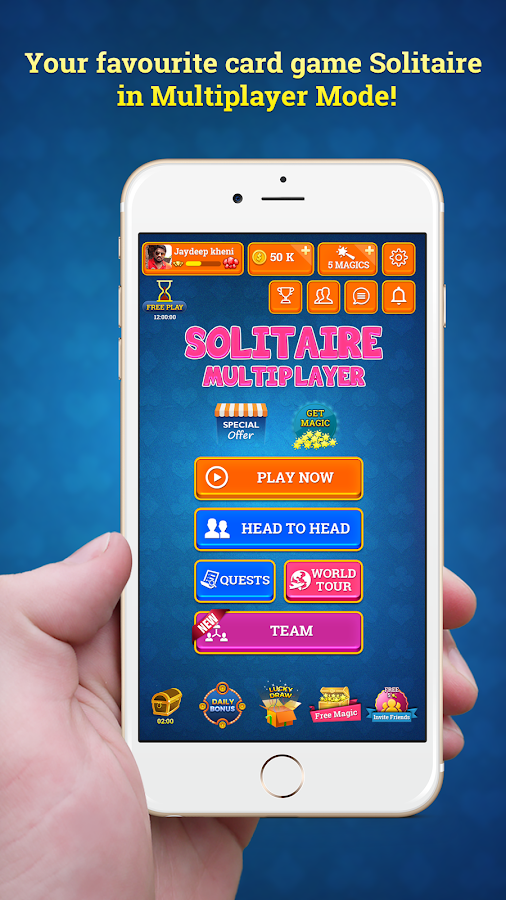 Solitaire Multiplayer- screenshot