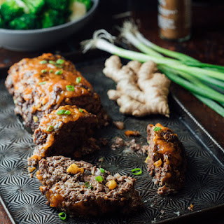 5 Spice Meatloaf With Apricot Ginger Glaze.