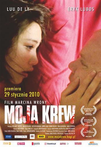 Polski plakat filmu 'Moja Krew'