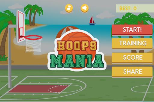 Basketball Hoops Mania