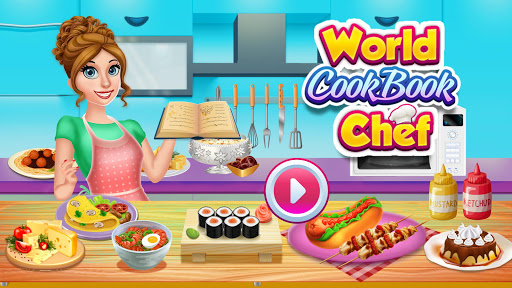 World Cookbook Chef Recipes: Cooking in Restaurant 1.1 screenshots 1