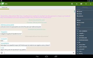 Screenshot of dIRC