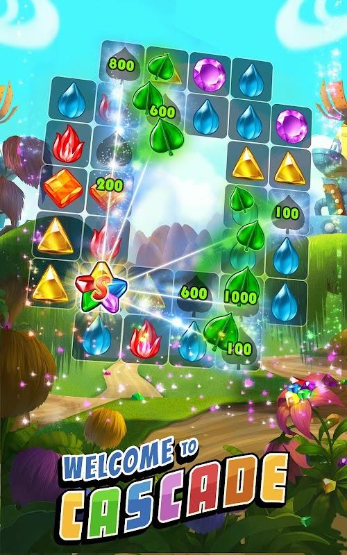 Screenshot 1 Cascade: Jewel Matching Adventure 2.2.0 APK MOD