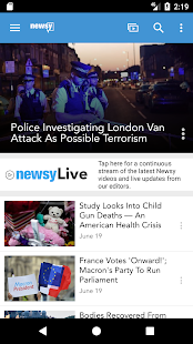 Newsy – Miniaturansicht des Screenshots