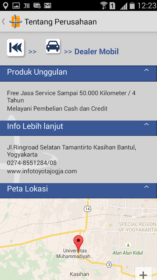 Jogjabagus- screenshot