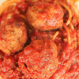 Classic Italian Meatballs (baked!).