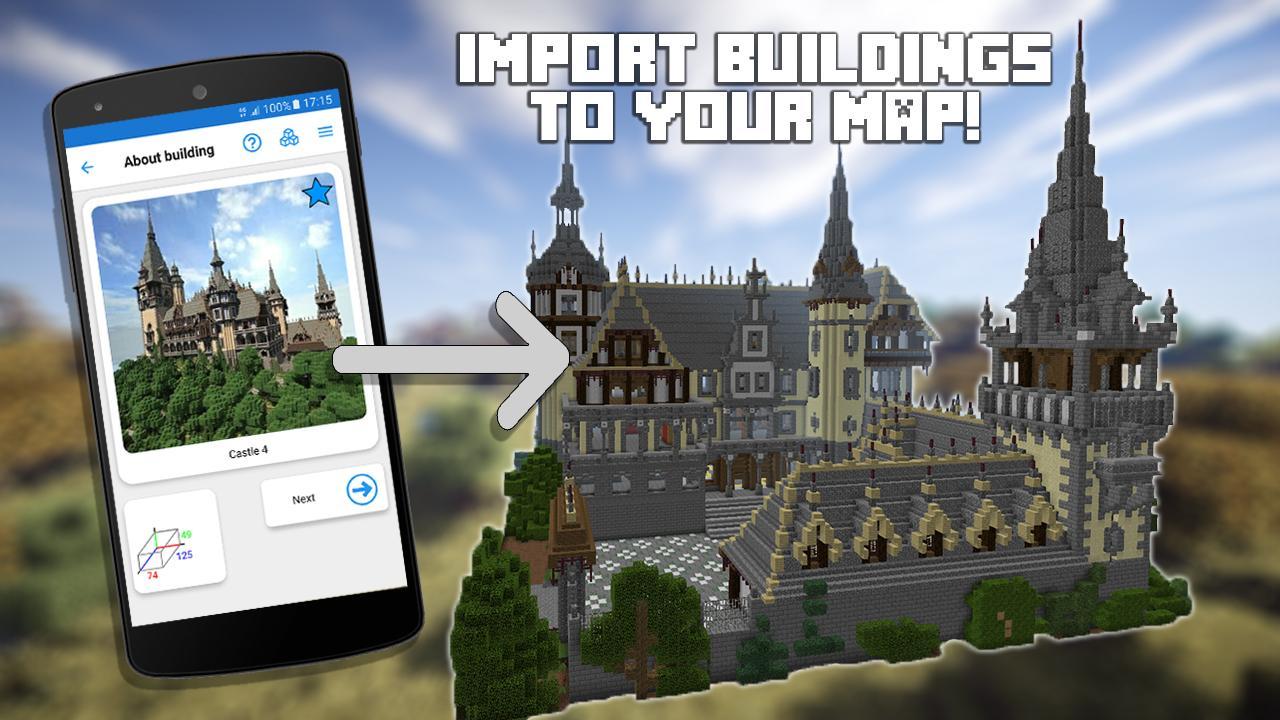 Builder For Minecraft Pe Pro Apk