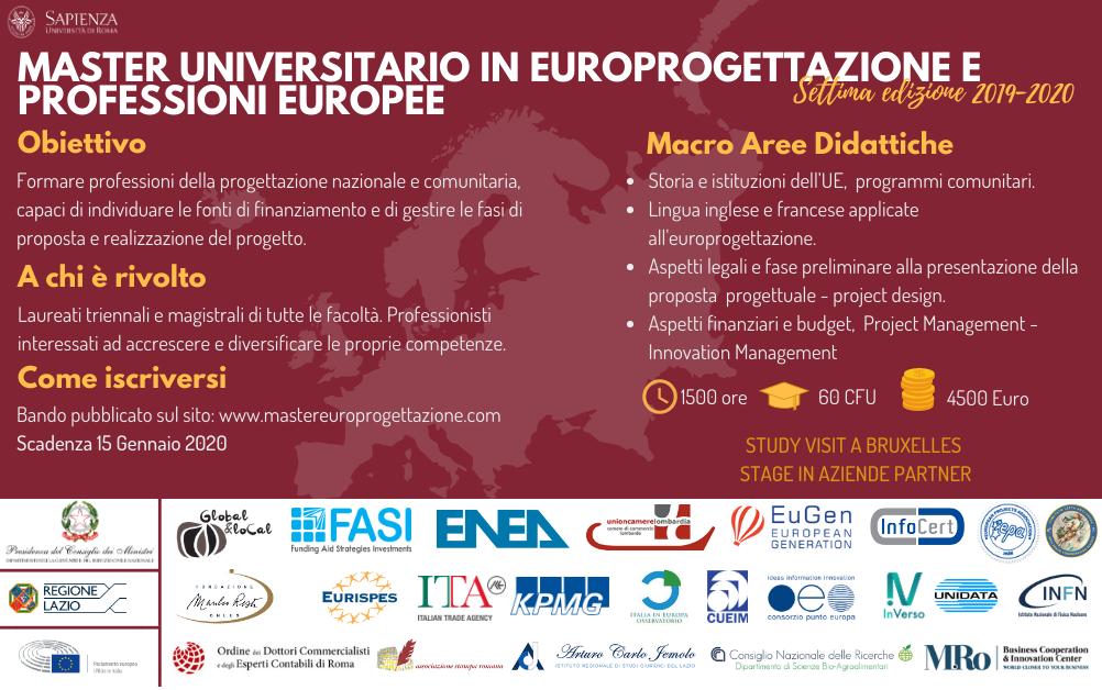 Europrogettazione e professioni europee