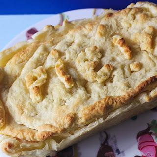 Cheese & Lentil Pie.
