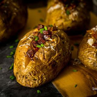 Spanish Style Baked Potato.