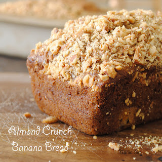 Almond Crunch Banana Bread
