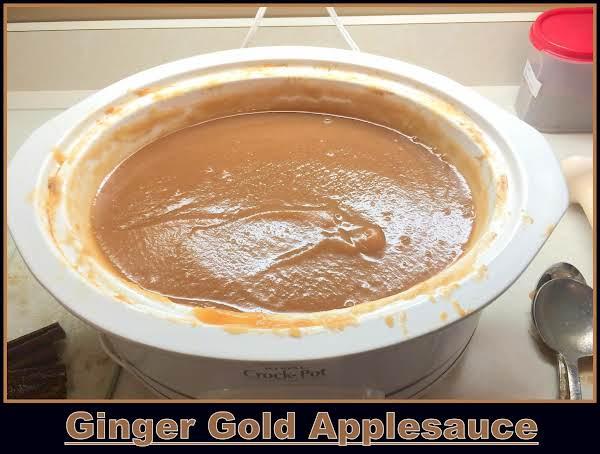 Ginger Gold Applesauce