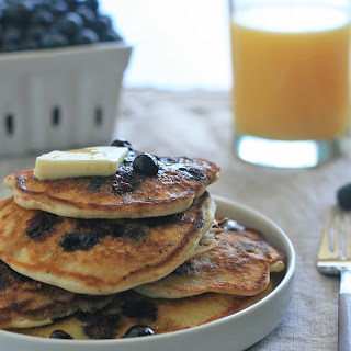 Gluten-Free Blueberry Buttermilk Pancakes