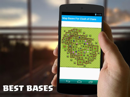 Map Bases For Clash of Clans