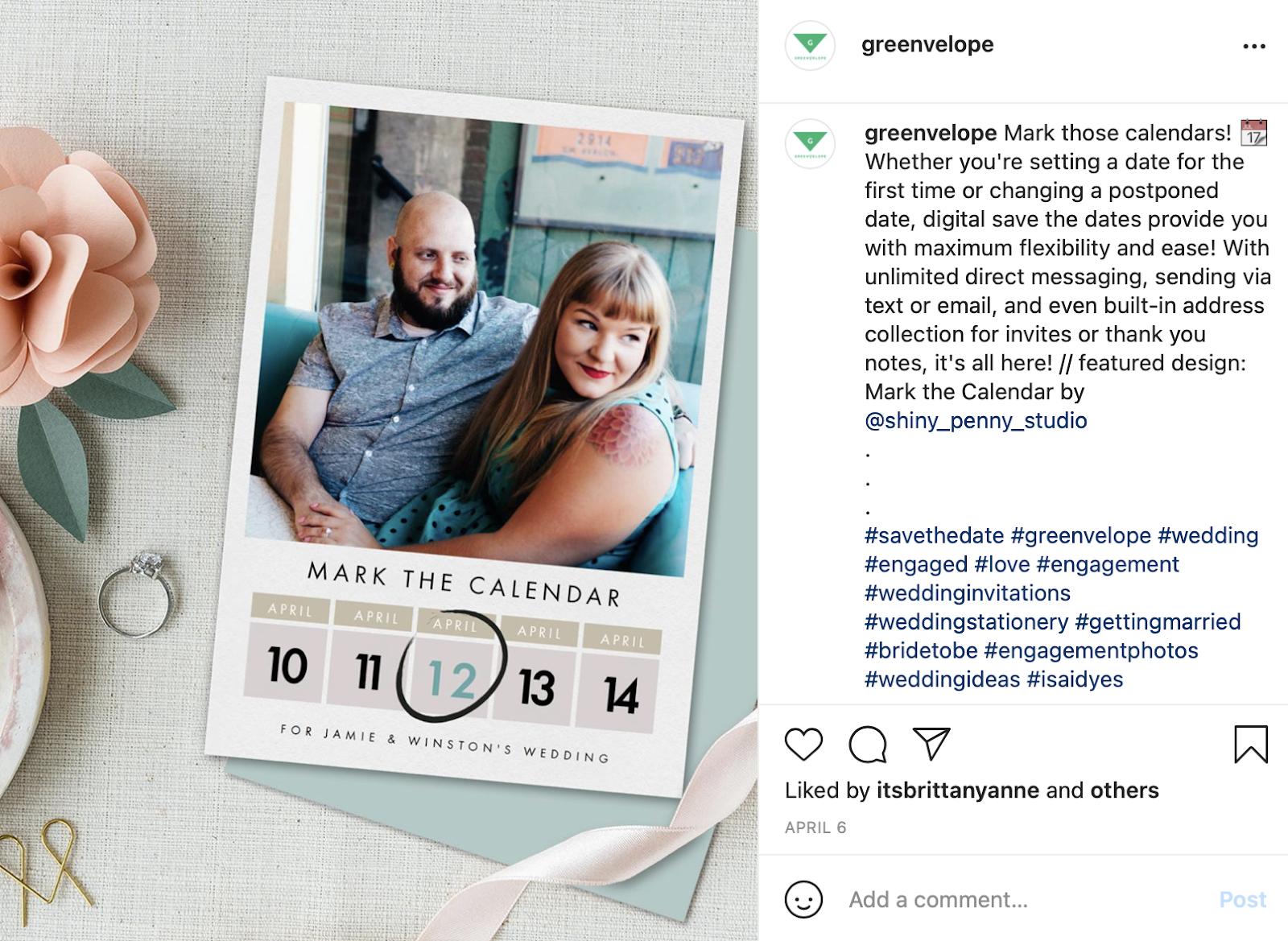 greenvelope for online wedding invitations
