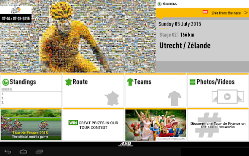 TOUR DE FRANCE 2015 by ŠKODA - screenshot thumbnail