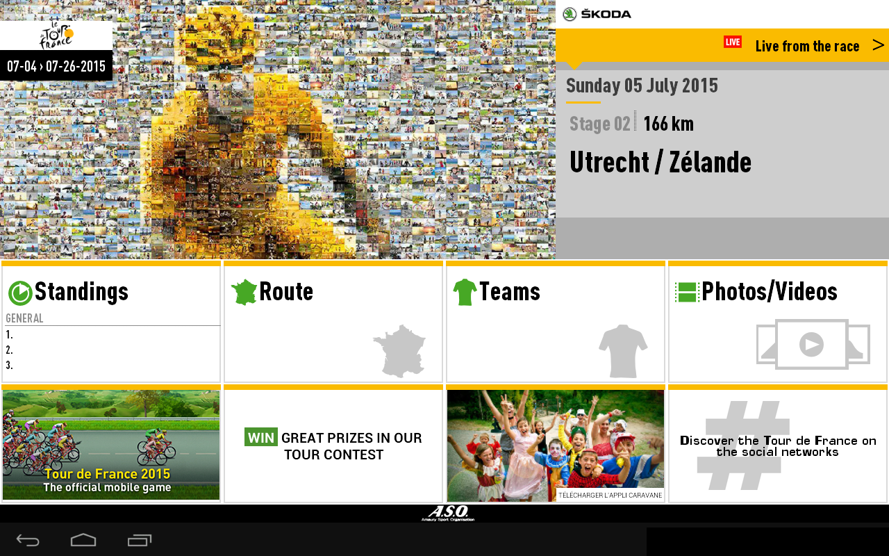 TOUR DE FRANCE 2015 by ŠKODA- screenshot