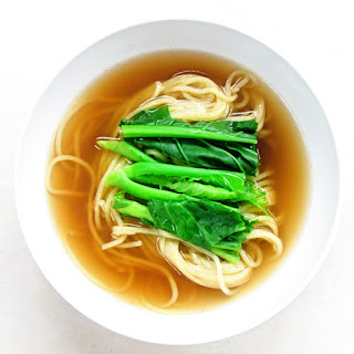 Noodle with Miso and Mushroom Broth