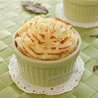 Creamy Potato In Ramekins