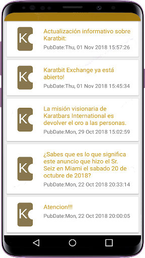 Screenshot for Karatbars Visionary Boys Club in United States Play Store