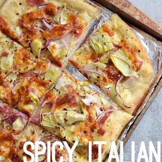 Spicy Italian Flat Bread.