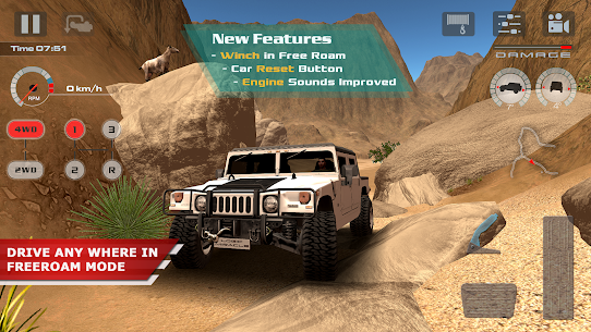 OffRoad Drive Desert 1.0.6 MOD (Unlimited Money) 1