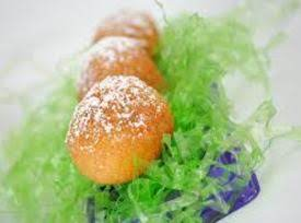 Deep Fried Easter Crème Eggs